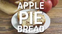 THE BEST APPLE PIE BREAD (+Video) | The Country Cook Apple Pie Bread, Apple Fritter Bread, Best Apple Pie, Easy Banana Bread, Banana Bread Recipes, Quick Bread, Apple Recipes, Sweet Recipes, Apple Cake