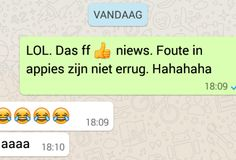 Is de taal waarin scholieren whatsappen nog wel Nederlands?