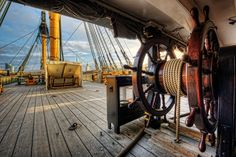 Professional images of HMS Victory, Lord Nelson's flagship and the World's oldest naval ship still in commission.