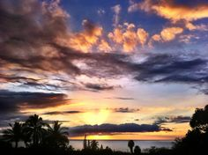 Maui Meadows sunset