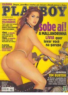 Playboy – Capa: Lívia Andrade, A Mallandrinha do Malandro! – Edição Setembro 2001