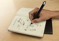 New Moleskine notebooks designed for use with Livescribe smartpens.
