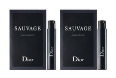 Dior Sauvage Sample-Vials For Men #beauty #dior