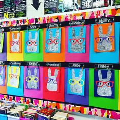 """364 Likes, 16 Comments - Miss Girling ✏️ (@missgirlingsclassroom) on Instagram: """"I keep catching myself staring at our gorgeous Easter bunnies! It's on the wall directly opposite…"""""""