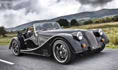 The Morgan Plus 8. Modernised but retaining its classic look and still looking marvelous.