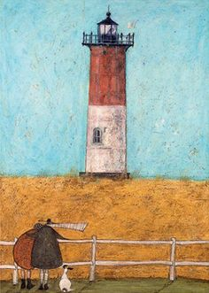 Feeling the Love at Nauset Light print by Sam Toft - WorldGallery.co.uk