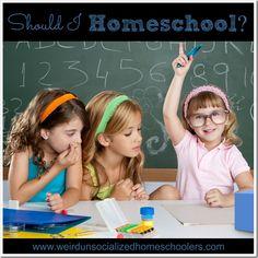 Should I Homeschool? {+ Giveaway}