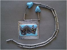 Laffi Sterling Silver Cat Necklace / Peru