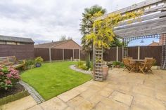 ✿ ✿ ✿ Gorgeous Landscaped South West facing Garden ✿ ✿ ✿ Feature pond with rock fountain, lawn area with patio borders, space for a garden shed. **************************************** Brix and Mortimer | Estate Agents Cheltenham | ☎ 01242 898 746