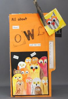 That artist woman: How to make File Folder Books (journals) for reports or instead of book reports