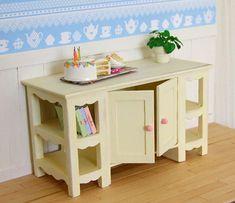 Dollhouse Miniature Kitchen Table Dollhouse Miniatures