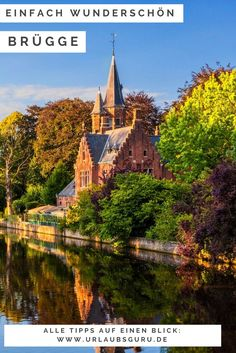 Die belgische Stadt Brügge: absolut sehenswert You just have to see the wonderful Belgian city of Br Great Places, Places To See, Beautiful Places, Bruges, Belgium Hotels, Reisen In Europa, Photos Du, Trip Planning, Adventure Travel