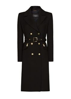 MANGO - Military style coat
