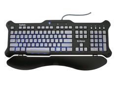 Google Image Result for http://www.build-your-own-computer.net/image-files/computer-keyboard-01.jpg  This is a computer keyboard. It is an input device because you plug it into the computer in order for it to work. It enables you to type intructions or data into the computer.