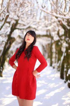Red Dress - The Cherry Blossom Girl