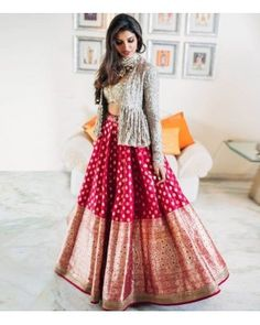 Indian Fashion Dresses, Indian Bridal Outfits, Indian Gowns Dresses, Dress Indian Style, Indian Designer Outfits, Wedding Outfits, Pakistani Dresses, Wedding Dresses, Choli Designs