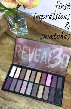 The Coastal Scents Revealed 3 Palette contains 20 all-new shadows with a variety of finishes! I have my first impression & swatches for you. Drugstore Makeup, Eye Makeup, New Shadow, Coastal Scents, Eyeshadow Palette, Eyeshadows, Eye Primer, Make Up Collection, Makeup Revolution