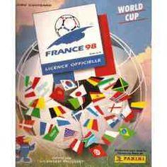 Album World Cup France 98...Impossivel completar!