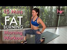 Beginner FAT Burning Morning Workout (Burn 300Cals in 15 Mins!) | Joanna Soh - YouTube