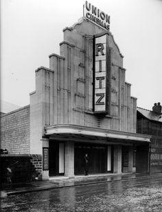 Ritz Theatre, Barnsley, England via archimaps A little theater on a rainy day. archimaps: The Ritz Theatre in the Barnsley Architecture Tumblr, Light Architecture, Old Pictures, Old Photos, Barnsley South Yorkshire, Art Deco, Home Photo, Urban Landscape, Luxury Travel