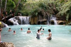 Suoi Tranh waterfall is around 7km east of Duong Dong is one of beautiful Phu Quoc waterfalls.