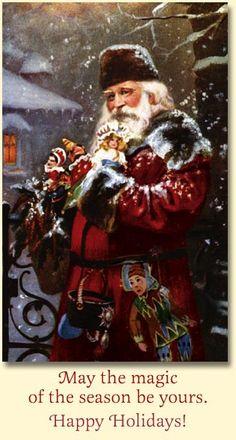 Elegant Father Christmas, Old World Christmas