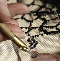 In 1992, Lesage started an embroidery school to pass on to a new generation the techniques of an art form threatened by mass-produced fashio...