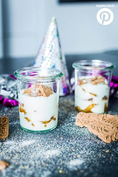 New Year& Eve Party Recipes: Speculat Tiramisu with Baked Apple Compote, Christmas Food Gifts, Xmas Food, Christmas Baking, Best Food Ever, Party Snacks, Party Recipes, Pinterest Recipes, Clean Eating Snacks, Chocolate Recipes