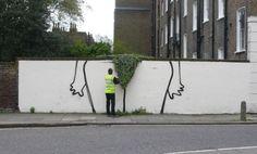 Новая работа от Banksy