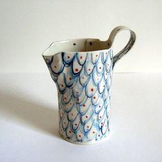 Alice Garland, cerámica pintada a mano