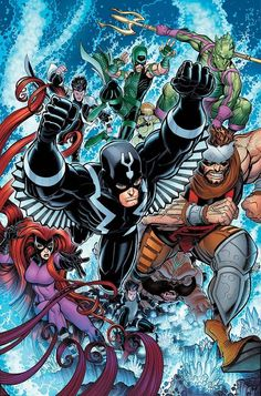 Black Bolt and the Inhumans - Universo Marvel