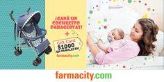 Farmacity - ¡Registrate y participá por un cochecito   $1000 en pañales!