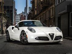 2015 Alfa Romeo 4C Coupe US-Version White