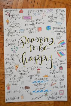 35 December Inspired Bullet Journal Spreads-- Reasons to be Happy Watercolor Collage Print image 1 Bullet Journal Topics, Bullet Journal Spreads, Self Care Bullet Journal, Bullet Journal 2020, Bullet Journal Notebook, Bullet Journal Aesthetic, Bullet Journal Inspo, Book Journal, Journal Layout