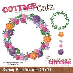 CottageCutz Spring Vine Wreath