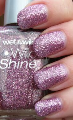 "Wet N Wild ""Sparkled"".  This looks like a good one to use for glitter ombre/gradient nails."