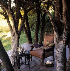 🌟Tante S!fr@ loves this📌🌟Main Verandah Ngala Safari Lodge, Ngala Private Game Reserve, South Africa Outdoor Rooms, Outdoor Gardens, Outdoor Living, Outdoor Decor, Pergola, British Colonial Style, Decks, My Dream Home, Beautiful Places