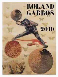 toutes les Affiche Roland Garros