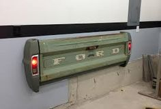 bench made from tailgate - Google Search