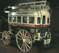 1887 Omnibus. Horse drawn
