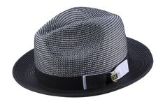 Spring Hats, Summer Hats, Mens Dress Hats, Mens Braids, Casual Wear For Men, Hat For Man, Stylish Hats, Fedoras, Black And White Man