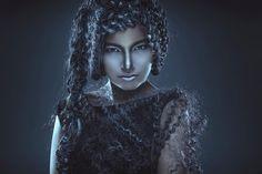Photographer: Mark van Velsen Hair/Makeup: Ayten La Rouge Model: Amber Breunissen Assistant: Dian Dillema by darkbeautymag