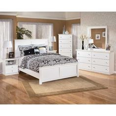 Bostwick 5 Piece Bedroom Set by Ashley Furniture is now available at American Furniture Warehouse. Shop our great selection and save!