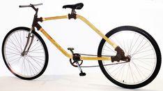 The bamboo bike - Vélo en bambou