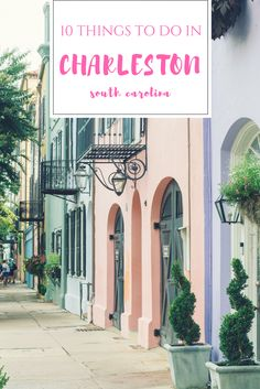 Charleston is such a charming city. We hadn't even planned on visiting it for a