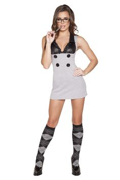 Naughty Principal Costume RM-4633 #schoolgirlcostume #naughtyschoolgirl #naughtyprincipal