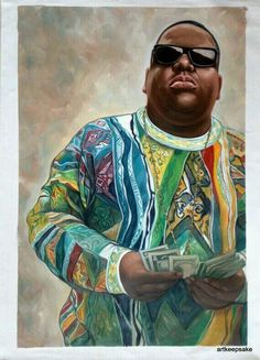 """Want more Biggie? Check out my board """"Hip Hop and Rap"""". A bunch of Old School with some New School sprinkled in. All black, naturally."""