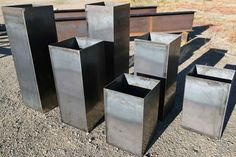 Custom Steel Planter Boxes by LousWelding on Etsy