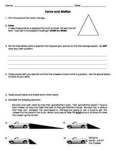 Grade 1 Comprehension Worksheets Excel Potential Or Kinetic Energy Worksheet  Middle School Science  This That These Those Worksheets Pdf Word with Korean Learning Worksheets Word Force And Motion Ws  Students Will Apply Their Knowledge About Motion  Graphs Kinetic Energy Potential Energy And Gravity To Complete The  Worksheet Algebra Distributive Property Worksheet Word