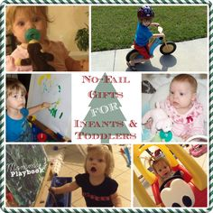 No Fail Gifts for Infants & Toddlers! Toys worth spending the money on!  #Christmas #ChristmasGifts #BabyGifts